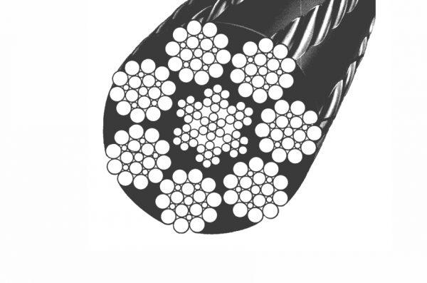 ساختار سیم بکسل با روکش پلاستیک