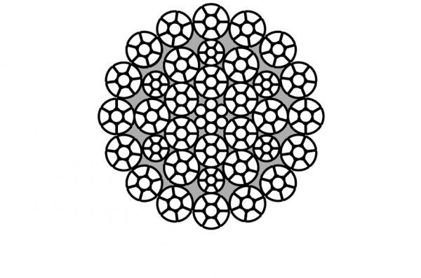ساختار سیم بکسل مقاوم در برابر چرخش